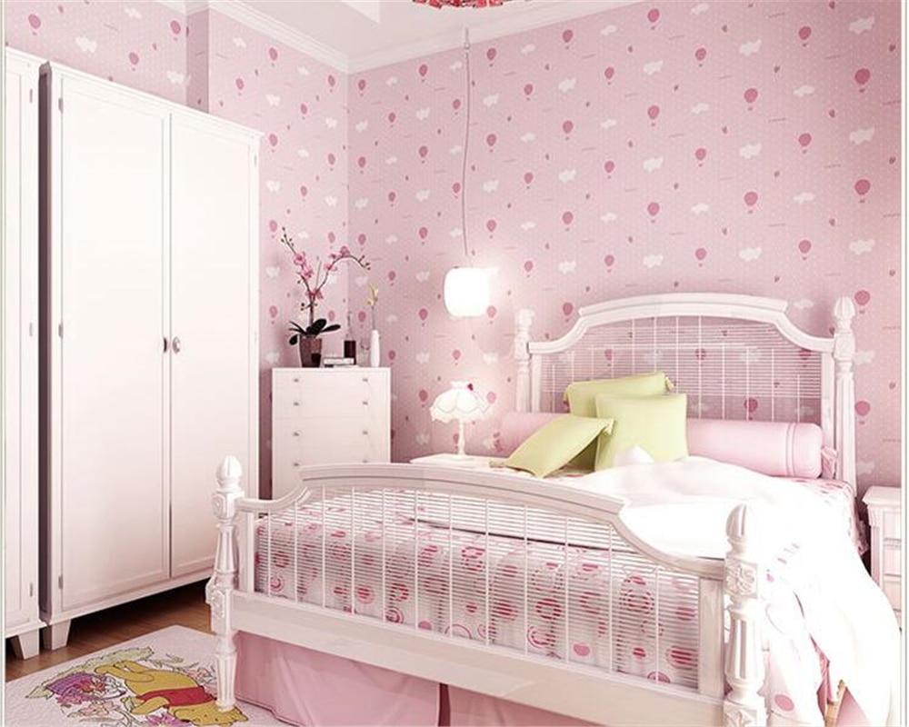 Beibehang enfants mignon garçon fille chambre fraise dessin animé non-tissé papier peint papel de parede papel de parede para quarto
