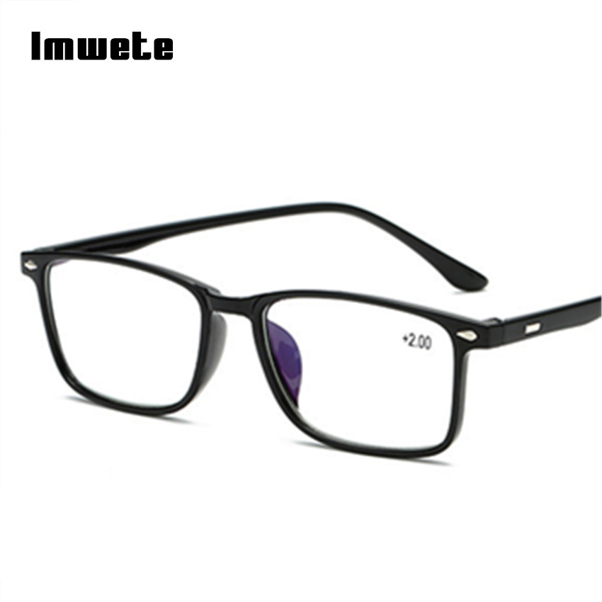 Men's Reading Glasses TR90 Presbyopia Reading Eyeglasses Blue Film Female Male Presbyopic Glasses +1.0 1.5 2.0 2.5 3.0