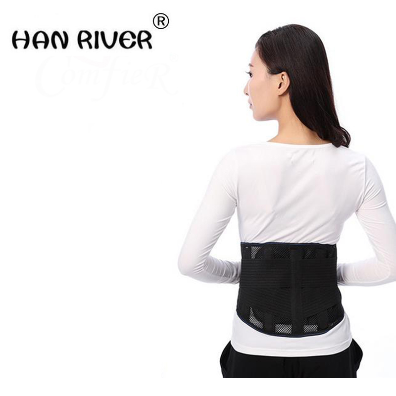 HANRIVER 2018 Spontaneous belt thermal strain of lumbar disc plate lady warm warm palace guards Both men and women hanriver 2018 medical wrist wrist fracture rehabilitation movement sprain support fixed splint for both men and women