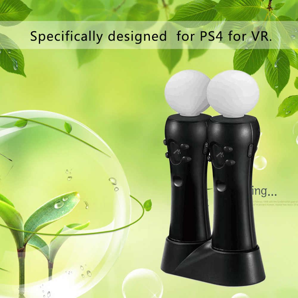 Двойной зарядка через usb Зарядка Док-станция Подставка для PS4 Игровые приставки 4 Очки виртуальной реальности VR PSVR игровой контроллер Зарядное устройство Подставка под смартфон для PS 4 фута DC 5 V
