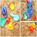 Adorável 14 pçs/set Diversão para Crianças Brinquedo Areia Da Praia De Água Ao Ar Livre Ferramentas de Forma Biológica Marinha Seaside Beach Conjunto de Ferramentas de Jogo de Areia brinquedos