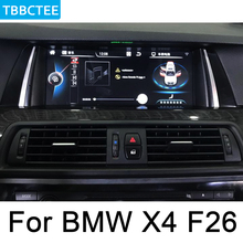 For BMW X4 F26 2014-2017 NBT Car Android multimedia player touch Screen GPS Navigation Map radio stereo Audio head unit WIFI BT