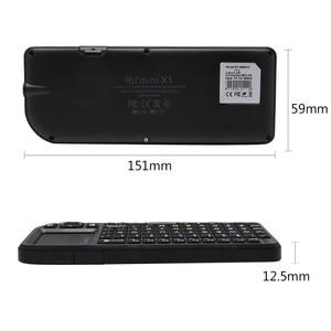 Image 5 - Rii teclado inalámbrico mini X1 Original, 2,4G, Air Fly Mouse, Touchpad portátil para TV inteligente, Android, tv box, PC, portátil, HTPC