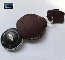 Кожа Ключеник Fob Держатель Для BMW Mini Cooper Clubman Countryman Paceman Родстер R55 R56 R60 R61