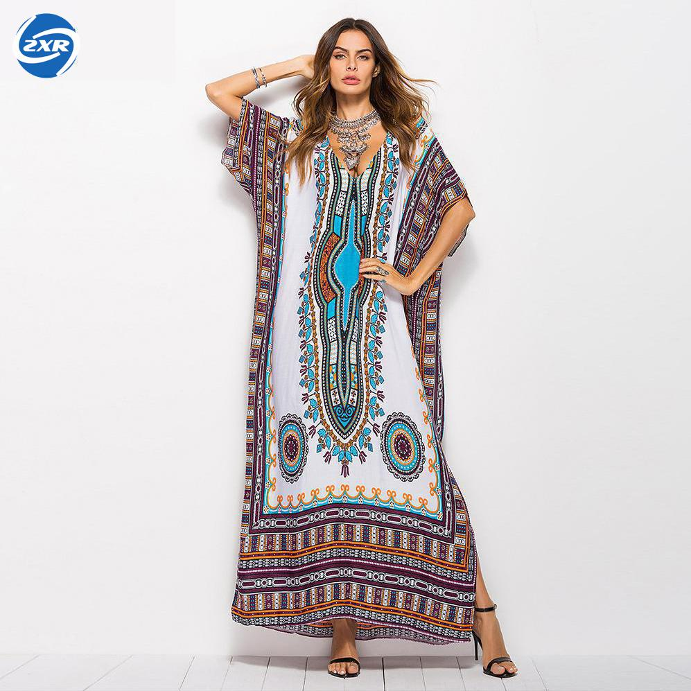 Beach Dress Kaftan Beach Sarongs Cover-up Chiffon Bikini Swimwear Tunic Swimsuit Bathing Suit Cover Ups Pareo