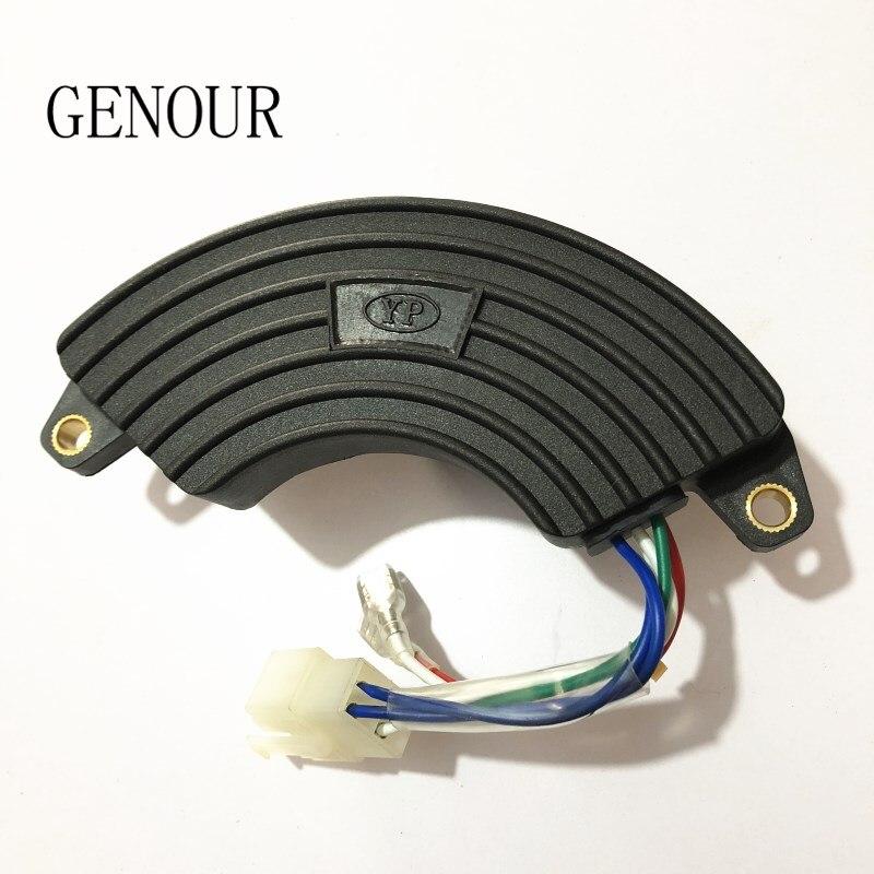 5-7KW YP avr regolatore monofase Per Il Generatore A Benzina Campione di alimentazione 7500 6500, Regolatore di Tensione Automatico di Ricambio