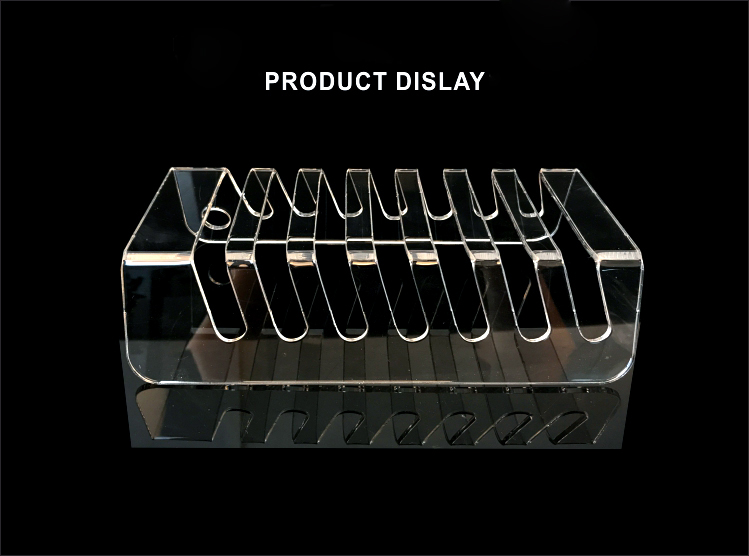 Acrylic Mobile Phone Display Rack Phone Shell Display Holder Phone Model Counter Display Stand Storage shelf Multilayer Tray 49 golf ball display case cabinet holder rack w uv protection
