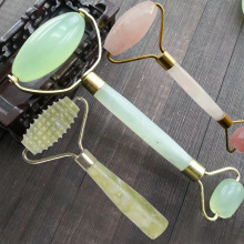 3 Style Natural Jade Beauty Massage Roller Facial Slimming Tool Face Arms Neck for Body