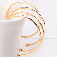 fashion korean semi-circular large stud earrings personality retro c-shaped for women diy hand-made jewelry accessories
