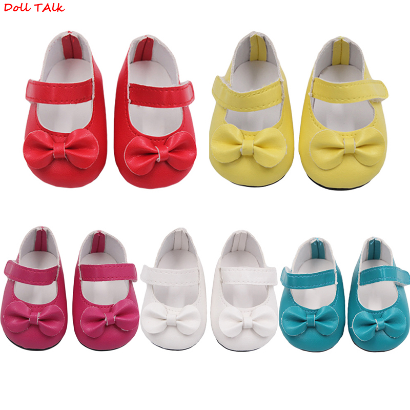 Doll Talk 5 Colors Bow-knot Doll Shoes New Arrival 18