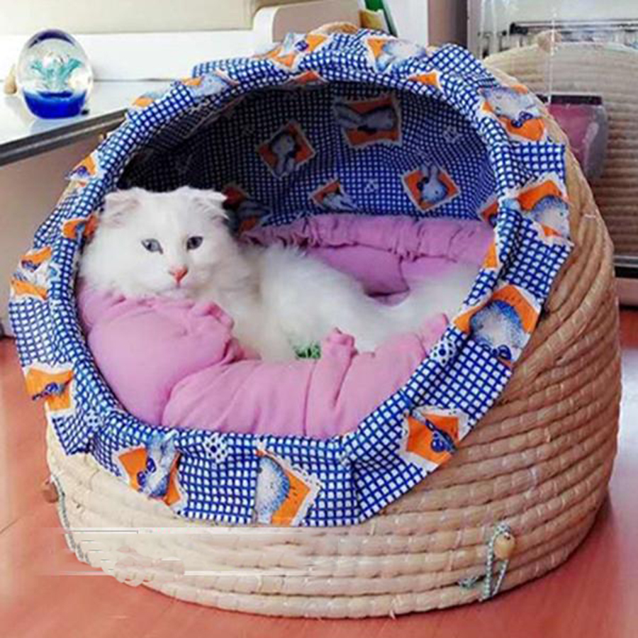 Cushion Bed High Quality Cat Dogs Cozy Mats Large Pet Puppy Dogs Bed Nest Product Camas Para Cachorro Animals Supplies 60Z1429