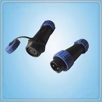Stecker  SP17 serie Wasserdicht wasserdichten Stecker  2 pins IP68 draht zu draht power plug kostenloser buchse