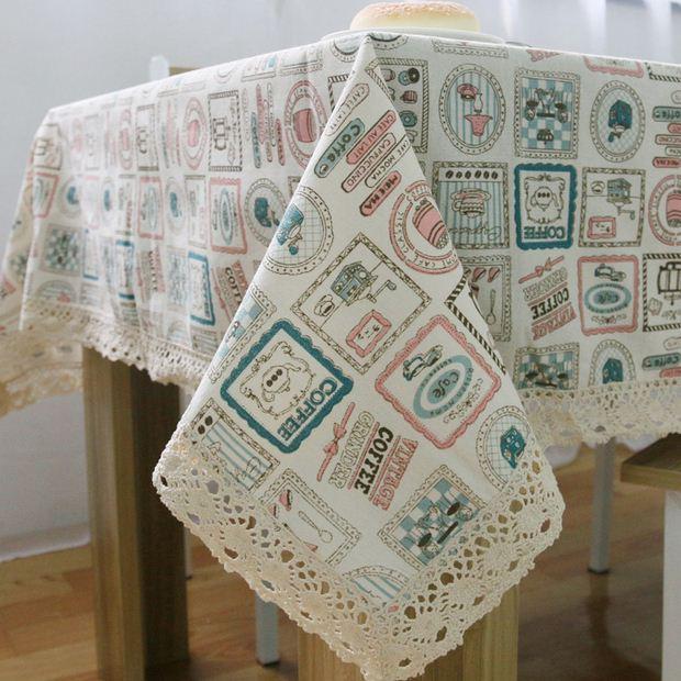 Aliexpress.com : Buy Literature Linen Table Cloth Korean