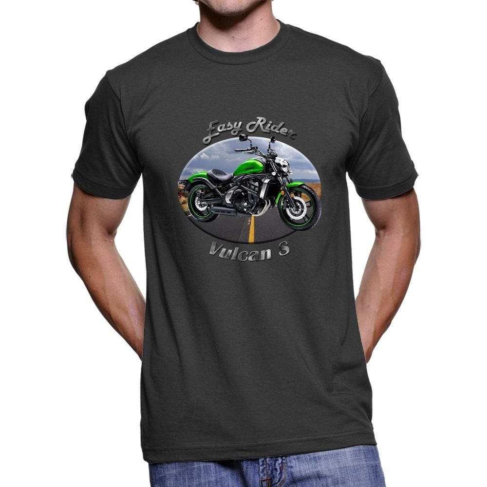 2018 Summer Fashion Men Tee Shirt Japanese Motorcycle Vulcan S Easy Rider Men`s T-Shirt ...