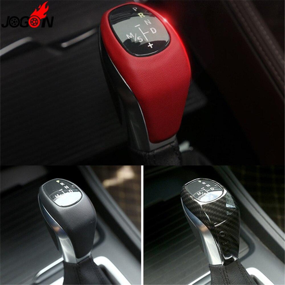Central Console Gear Shift Knob Handle Cover Trim For BMW 2 Series Active Tourer F45 Gran Tourer F46 2015-2018 X1 F48 2016-2018