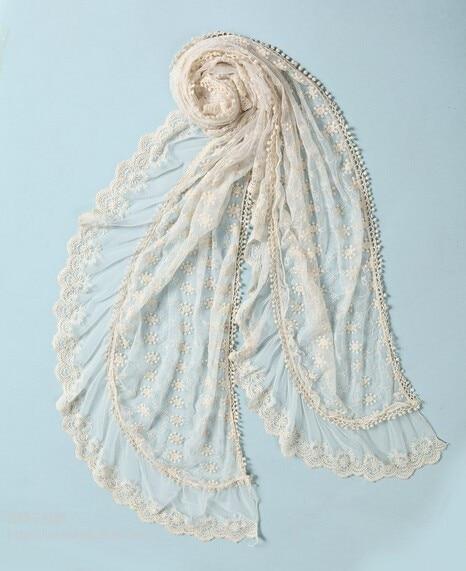 11b23810a1a4 Couverture sciarpa bufanda dentelle serpentard boho poncho fourrure mignon  lolita col tartan viaons hijab crochet hippie boho écharpe