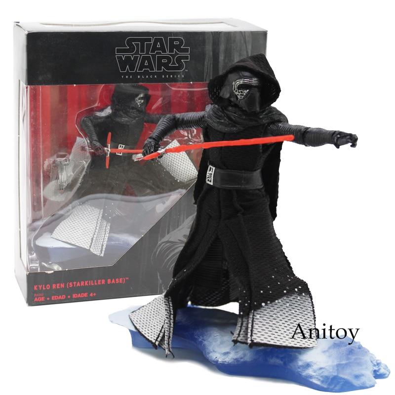 Star Wars The Black Series KYLO REN STARKILLER BASE Star-Wars PVC Action Figure Collection Toy 16cm