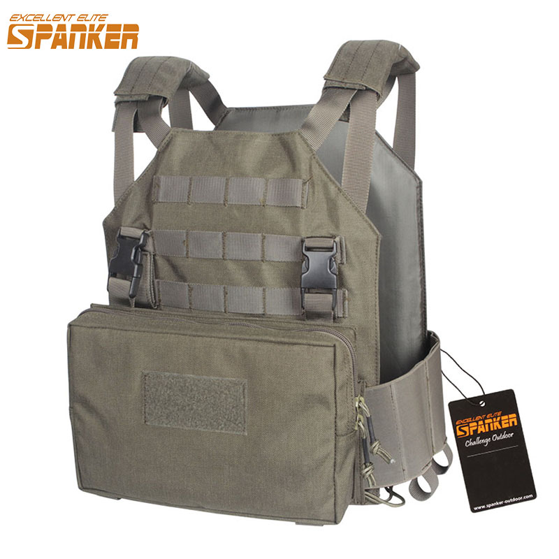 EXCELLENT ELITE SPANKER Outdoor Tactical Vest Plate Carrier AMP Military Vest For Men's Jungle Camouflage Hunting Equipment camouflage tactical vest mens hunting vest outdoor black training military army swat mesh vests protective equipment