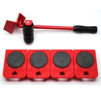 Portable Furniture Lifter Mover 5 Pieces Furniture Transport Set Furniture Lifter and Furniture Sliders Tool Kits