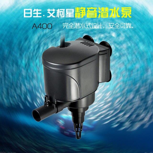 6w 400l h resun aquasyncro a400 silent submersible water pump multi