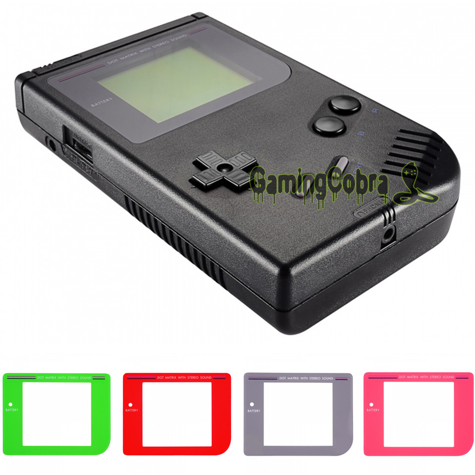 Black Replacement Battery Door Cover For GameBoy Classic Fat DMG-01