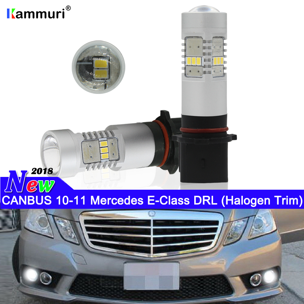 Mercedes C-Class W202 H7 501 55w Super White Xenon HID Low//Side Light Bulbs Set