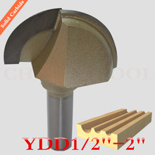 1/2''-2''-1PCS, Solid carbide woodworking router bit,tungsten milling cutter,MDF,Wood,Rosewood,particleboard,Round Bottom bit
