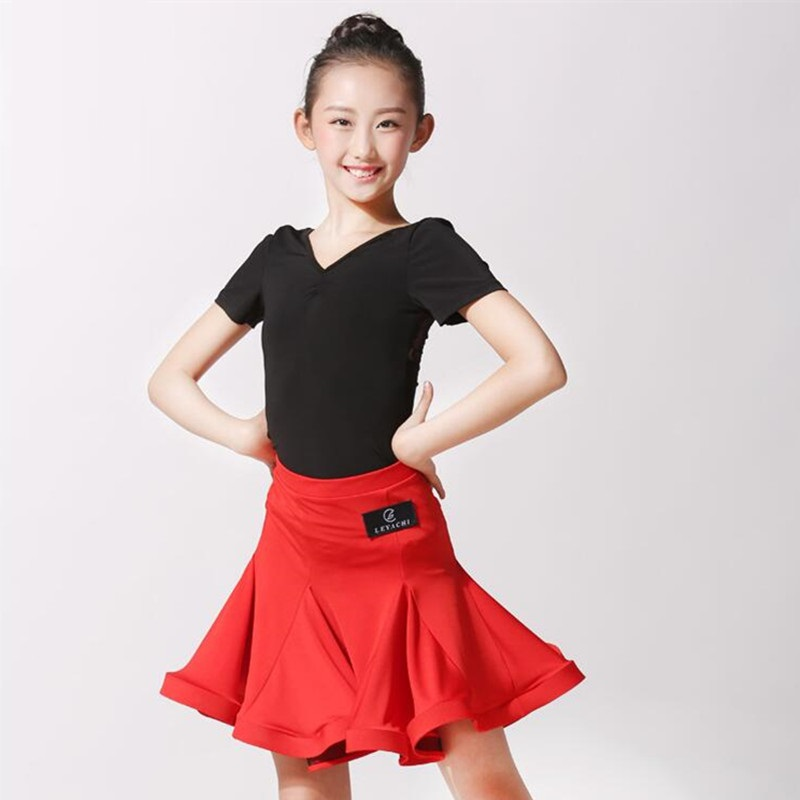 Picture of Latin Dance Dress For Girls Latin Competition Dress Latin Salsa Dress Samba Costume Dance Wear Modern Dance Costumes For Kids