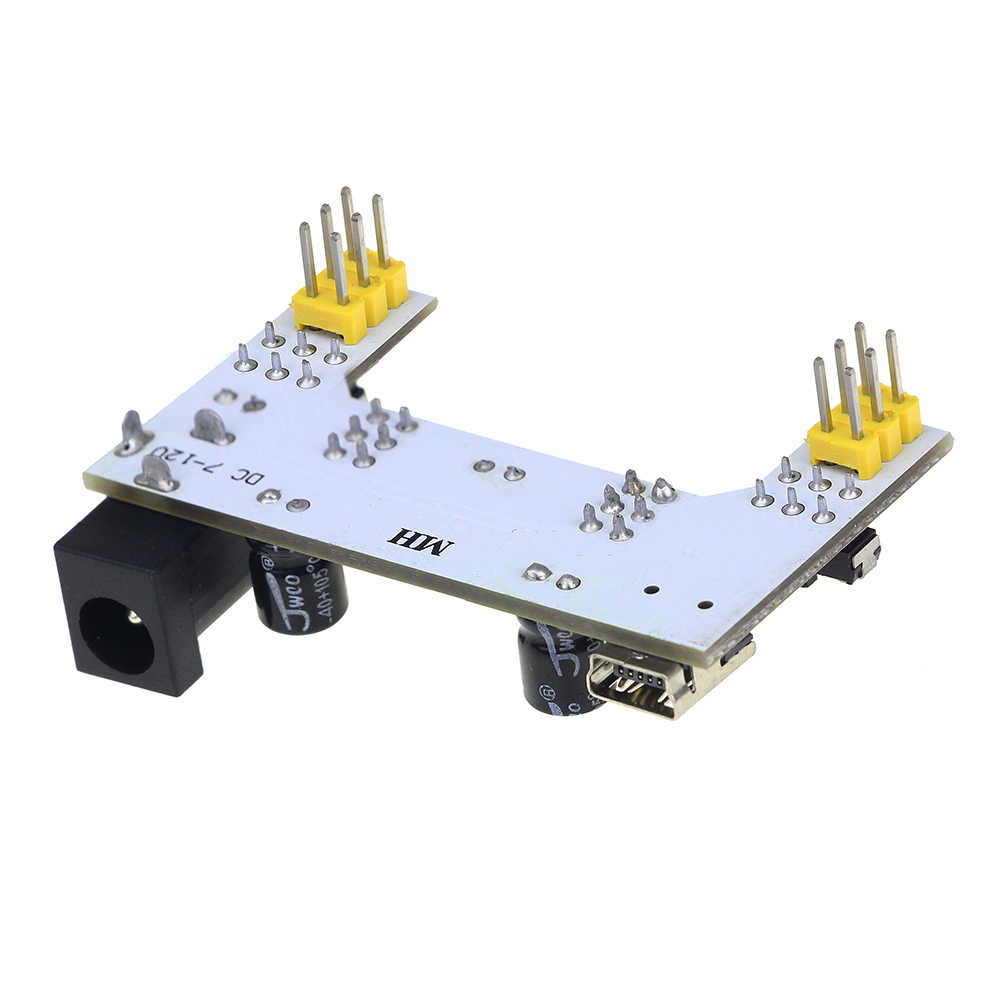 MB-102 модуль 2 канала плата MB102 DC 7-12 В Micro USB интерфейс макет модуль питания для arduino Diy Kit