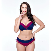 2017 Plus Size Bikini Set Bathing Suit Push Up Bikinis Women Large Cup Bikini Set Women