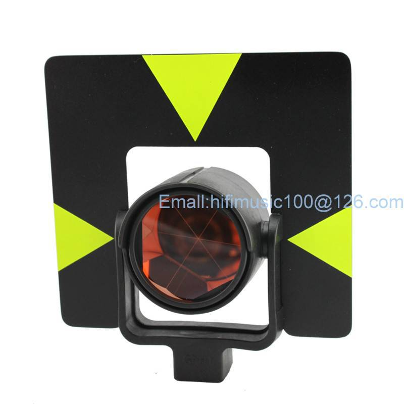 Brand NEW Single Prism With Soft BAG FOR Type Total Stations 0 MM brand new red color prism for leica total stations