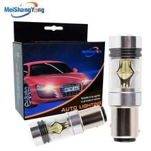 1157 BAY15D P21/5W 1200LM LED Bulb Car Fog Light Tail Driving Lamp DRL Day Runnight Reverse 100W 6000K White 3030 20SMD 12V-24V