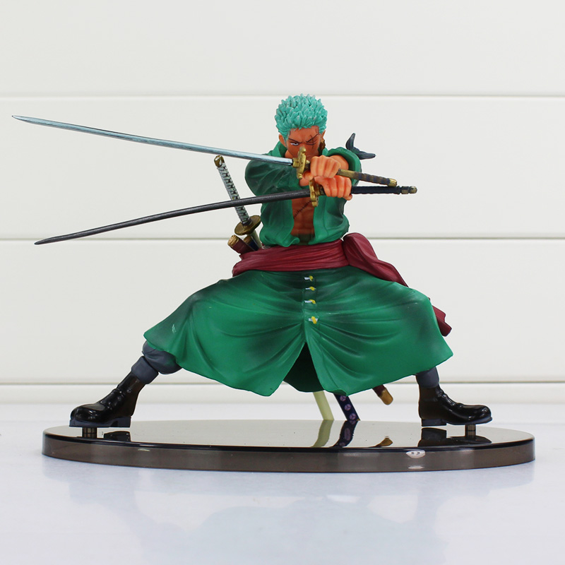 Anime One Piece Roronoa Zoro Sauron Japanese Cartoon Two Years Later One Piece Action Figures PVC Doll Model brand new portrait of pirates one piece roronoa zoro 23cm pvc cool cartoon action figure model toy for gift kids free shipping