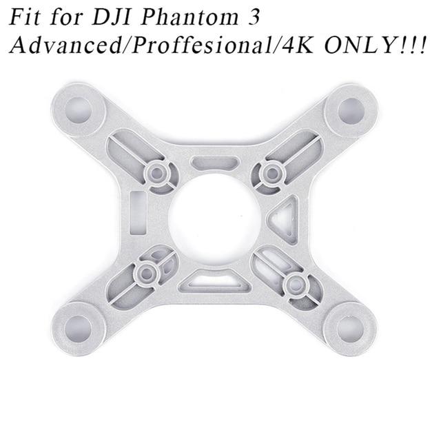 Plaque de montage de cardan boule damortissement goupille Anti-chute pour DJI Phantom 3 Adv Pro Drone pièces Kits de rechange panneau Anti-Vibration