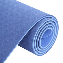 Esterilla Acupresion TPE Yoga Mat 6mm 183*61cm Double Color Gym Non-slip acupressure For Fitness Mats