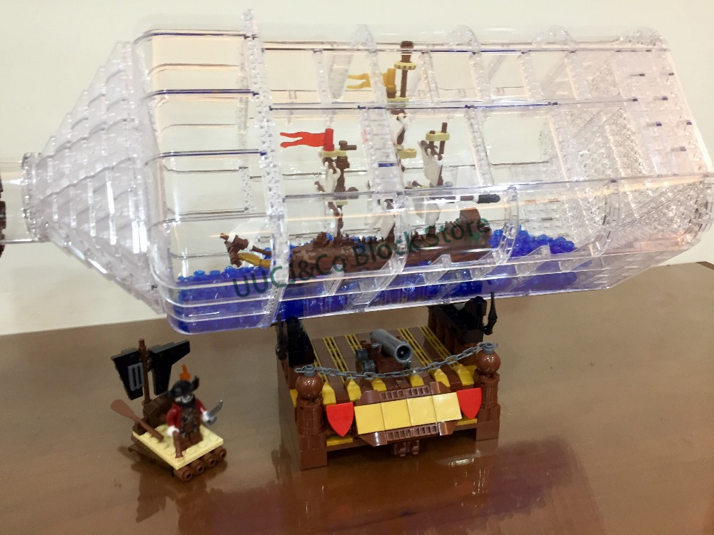 LEPIN New  316pcs Movie Series The Ship in the Bottle Model Building Blocks set Bricks Toys for children Christmas Boy Gift lepin 16030 1340pcs movie series hogwarts city model building blocks bricks toys for children pirate caribbean gift
