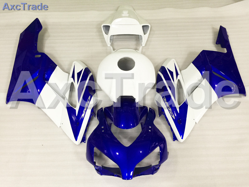 Motorcycle Fairings For Honda CBR1000RR CBR1000 CBR 1000 RR 2004 2005 ABS Plastic Injection Fairing Bodywork Kit Blue White A533 injection mold fairing for honda cbr1000rr cbr 1000 rr 2006 2007 cbr 1000rr 06 07 motorcycle fairings kit bodywork black paint