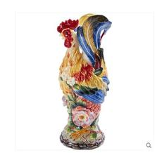 The American rooster pitcher large ceramic vase is decorated with the European export high