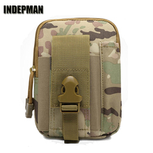 New Indepman Nylon Fabric Material Outdoor Tactical Sport Waist Bag Multifunctional Waterproof Durable and Abrasion Resistant.