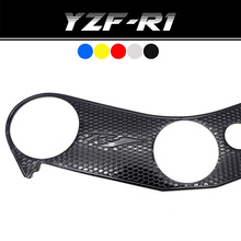 цены Top Triple Clamp Yoke For YAMAHA YZF R1 YZF1000 YZF-R1 YZFR1 Stickers Decal Case Pad Triple Tree R1 R1000 Motorcycle 2005-2008