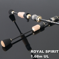 TOMA Lure Rods Carbon Fiber 1 68m 2 Section Spinning Fishing Rod Casting 562 UL Fast