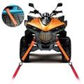 4 unids 12 ''Universal Bucles Suaves Motocicleta Amarre Correas 2300 Libras Resistencia A La Rotura Evitar Arañazos para Moto ATV Suciedad bicicleta