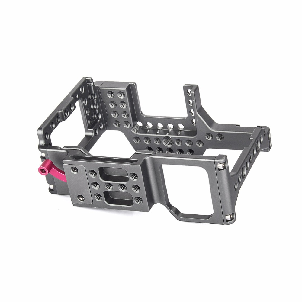 productimage-picture-waraxe-a7-kit-camera-cage-built-in-quick-release-fits-arca-swiss-for-sony-a7-a7r-a7s-a7-ii-a7r-ii-a7s-ii-with-nato-rail-handle-grip-and-1-4-98410