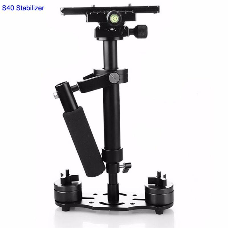 Kaliou Aluminum Steadicam Steadycam Handheld S40 Stabilizer for Gopro 6 5 4 3 2 1 Camera DSLR Video Photography Studio Accessery