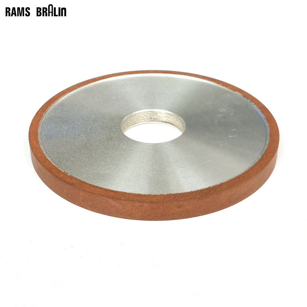 125*10*32*4mm Flat Diamond Abrasive Grinding Wheel For Alloy Steel Ceramic Glass Jade CBN Grinding