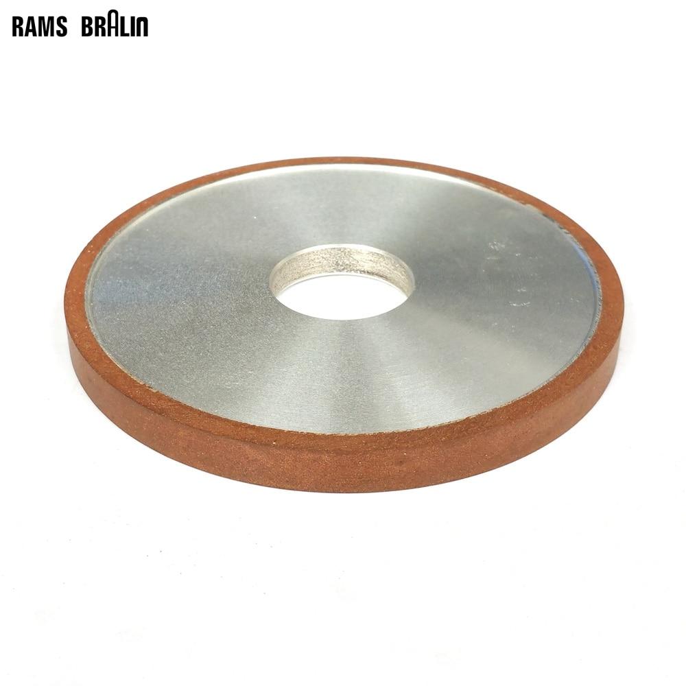 125*10*32*4mm Plat Diamant Meule Abrasive pour Alliage Acier En Céramique Verre Jade CBN broyage