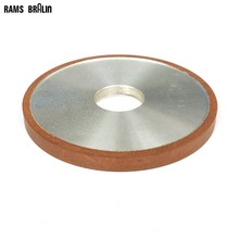 125*10*32*4mm Flat Diamond Abrasive Grinding Wheel for Alloy Steel Ceramic Glass Jade CBN Grinding(China)