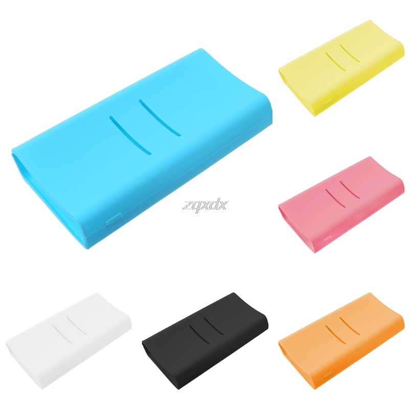 1pc Anti-slip Silicone Protection Case Cover For <font><b>Xiaomi</b></font> <font><b>mi</b></font> <font><b>2C</b></font> <font><b>20000mAh</b></font> <font><b>Powerbank</b></font> Whosale&Dropship image
