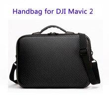 MAVIC 2 Pro Zoom Портативная сумка для хранения, сумка на одно плечо, водонепроницаемый чехол для переноски, ручная сумка для хранения из искусственной кожи