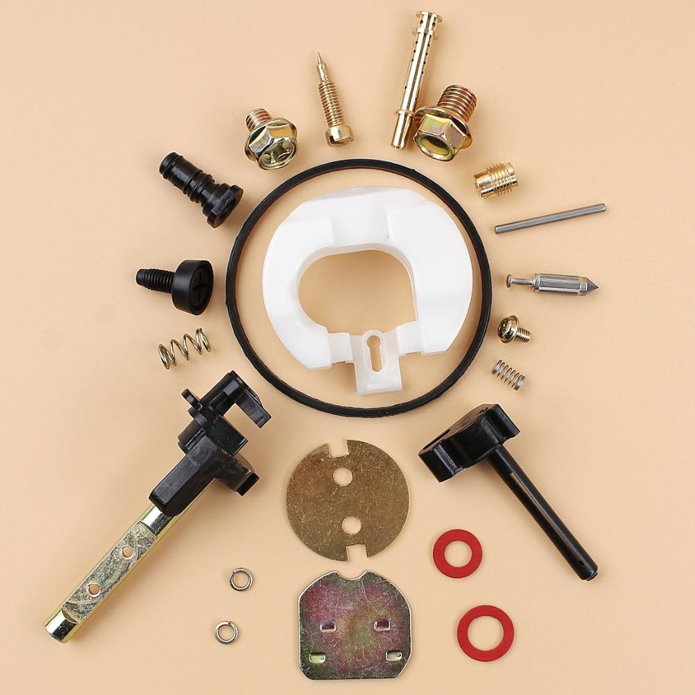 Carburetor Carb Rebuild Repair Kit For HONDA GX390 GX 390 Chinese 188F 13HP  4-Stroke Gasoline Engine Motor Water Pump Lawnmower